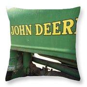 Deere Support Throw Pillow