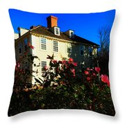 Deerfield House 1 Throw Pillow