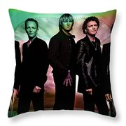 Def Leppard Throw Pillow