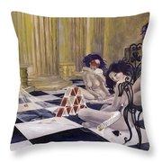 Defenceless Throw Pillow by Dorina  Costras