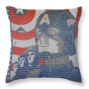Defend The Nation Throw Pillow