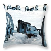 Defense Throw Pillow by Olivier Le Queinec