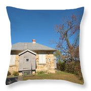Defensible Lockmaster House Throw Pillow