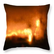 Defrosting Throw Pillow