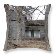 Defunct House Throw Pillow