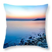 Deganwy North Wales Throw Pillow