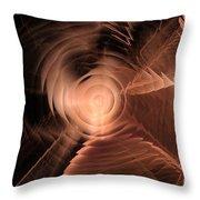 Deja Vu / Rabbit Hole Throw Pillow