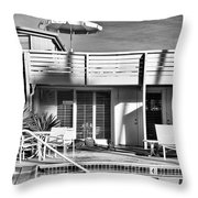 Del Marcos Palm Springs Throw Pillow