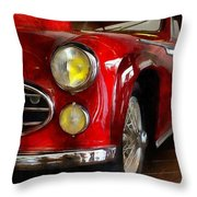 Delahaye 235 - Automobile   Throw Pillow