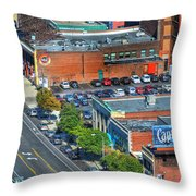 Delaware Ave Throw Pillow