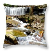 Delaware Falls Throw Pillow