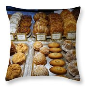 Delicasies In Laderee On The Champs De Elysees Throw Pillow