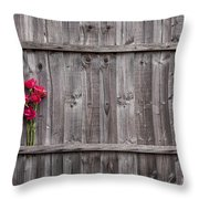 Delicate And Rough Throw Pillow