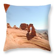 Delicate Arch 1 Throw Pillow