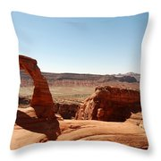 Delicate Arch 2 Throw Pillow