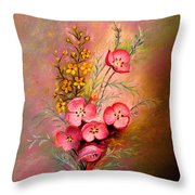 Delicate Beauty Of Spring Throw Pillow