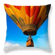 Delicate Cargo Throw Pillow