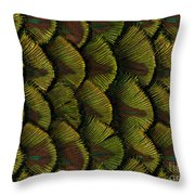 Delicate Feather Throw Pillow