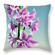 Delicate Flower... Throw Pillow