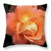Delicate Love - Digital Photoart Throw Pillow