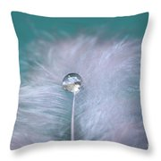 Delicate Mood Throw Pillow