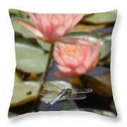 Delicate Observer Throw Pillow