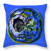 Delicate Orb Throw Pillow