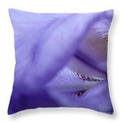 Delicate Purple Throw Pillow