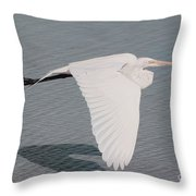 Delicate Wings In Flight Throw Pillow