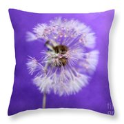 Delicate Wish Throw Pillow