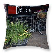 Delice Throw Pillow