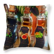 Delight With Vinegar Throw Pillow