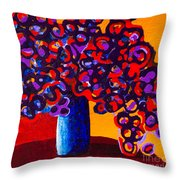 Delights Of Orange Throw Pillow