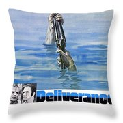 Deliverance Throw Pillow by Movie Poster Prints