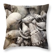 Delivered By The Sea Throw Pillow