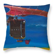 Delivery After The Rain Throw Pillow