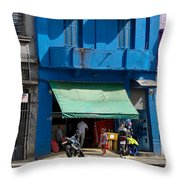 Delivery Boy - Sao Paiulo Throw Pillow