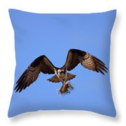 Delivery By Air Throw Pillow