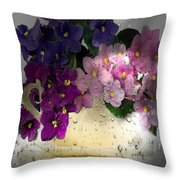 deLovely Throw Pillow