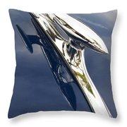 Delta 88 Rocket Throw Pillow