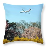Delta Airlines Throw Pillow
