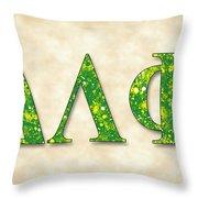 Delta Lambda Phi - Parchment Throw Pillow