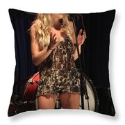 Delta Rae Throw Pillow