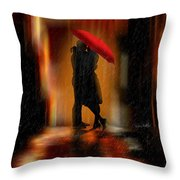 Deluge Of Love Throw Pillow