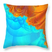 Demons Or Angels Throw Pillow