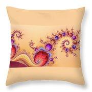 Dendrocometes Throw Pillow