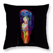 Denial Throw Pillow