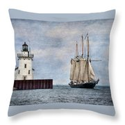 Denis Sullivan Throw Pillow by Dale Kincaid