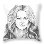 Denise Richards Throw Pillow