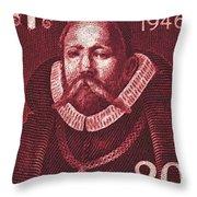 Denmark - 1946 Throw Pillow